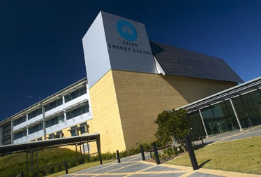 Photograph of the CSIRO Energy Centre Building.