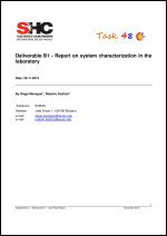 Report on system characterization in the laboratory