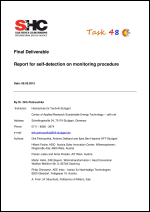 Report for self-detection on monitoring procedure
