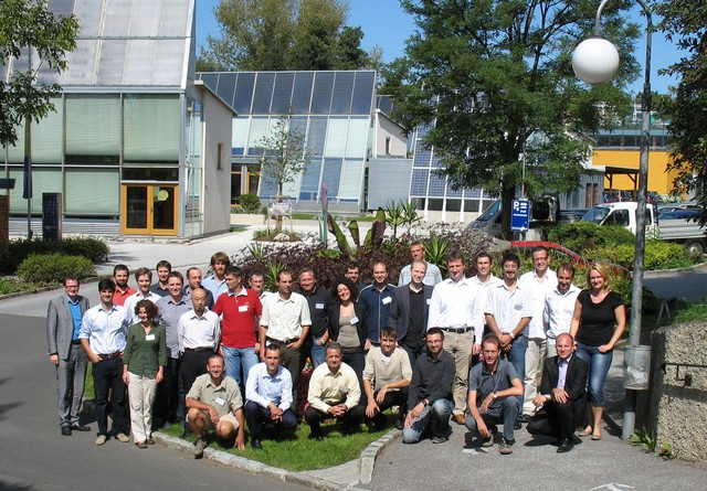 Attendees at Task 48 3rd Experts Meeting in Gleisdorf